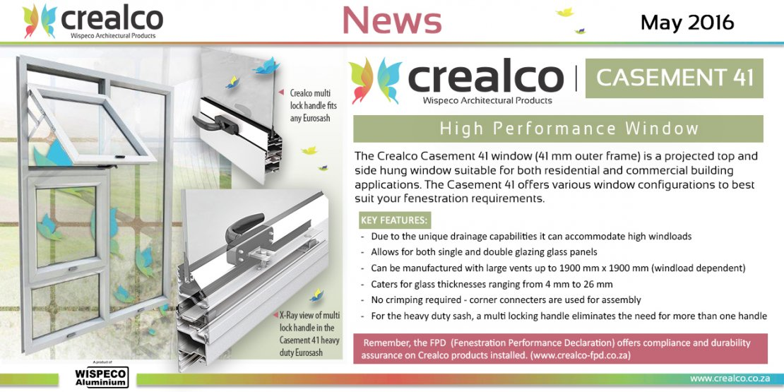 Crealco Aluminium And Glass Products Architectural